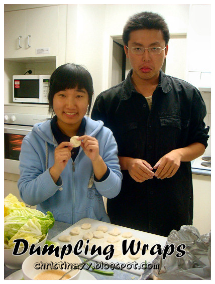 Home-cook: Making Dumpling Wraps