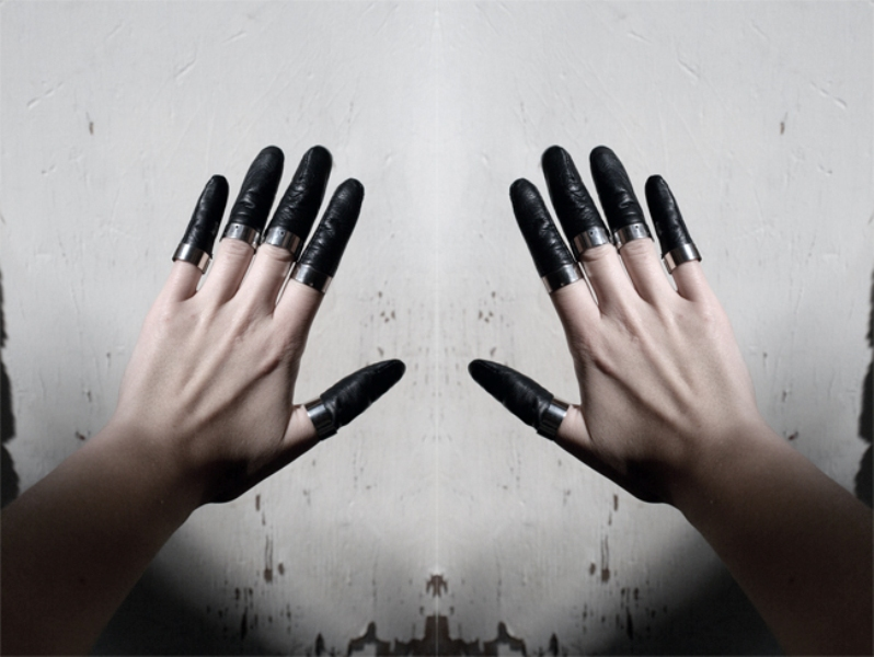 Katja Korsawe inspired finger rings by Foxyman