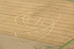 Swiss Crop Circle 2009 Aerial (Kecko) Tags: nature geotagged schweiz switzerland cornfield suisse swiss country natur flight kecko aerial mysterious svizzera 2009 tg aerialshot kornfeld cropcircle flug thurgau steckborn kornkreis mysteriös swissphoto hörhausen tägermoos geo:lat=47646504 geo:lon=8976892