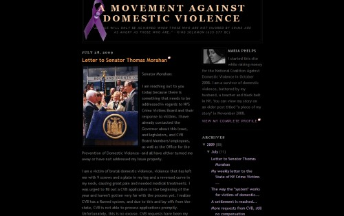 A Movement Against Domestic Violence