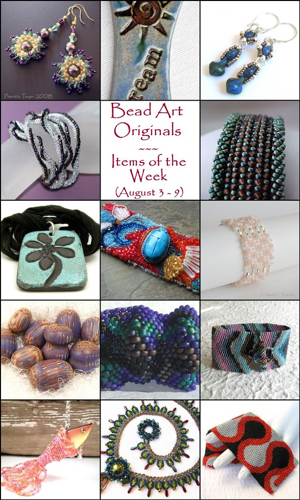 Bead Art Originals Items of the Week (August 3-9)