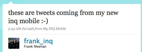 Twitter / Frank Meehan: these are tweets coming fr ...