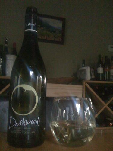 2008 Dashwood Sauvignon Blanc
