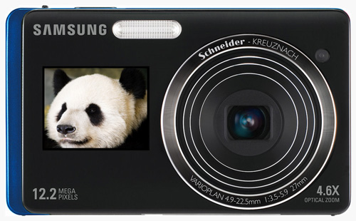 the Samsung DualView TL225: because it's hard taking self portraits if you're a panda
