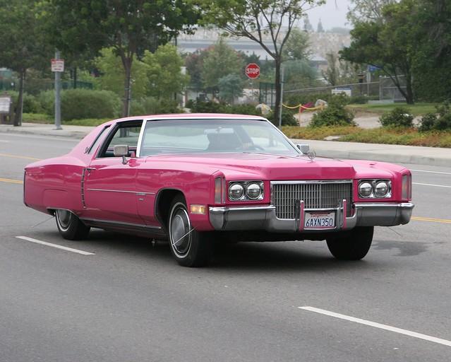 ca pink cars la 1971 cadillac eldorado woodlandhills carspotting supercarsunday carsandcoffee