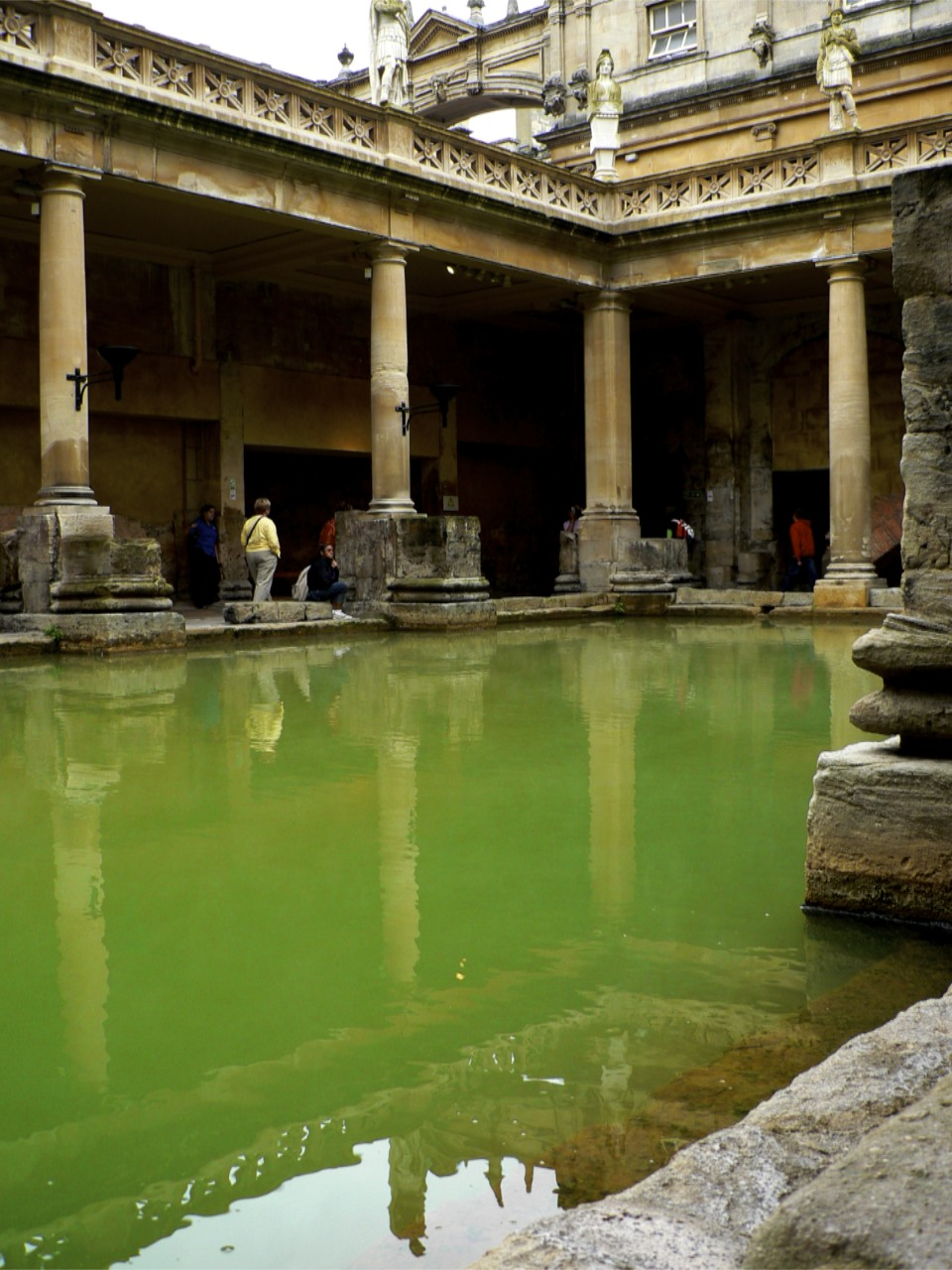 Roman Bath water