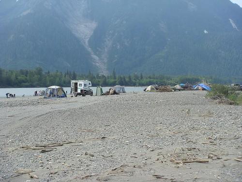 Camping Along the Skeena River