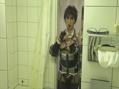 Sexy holder smoking (mistresspaula66) Tags: fetish slut smoking tranny holder