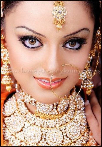 Pakistani Indian Bridal make up Hair make up By hafsa