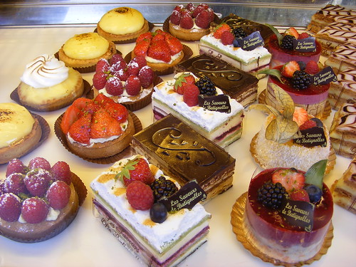Little Break in Paris: cakes