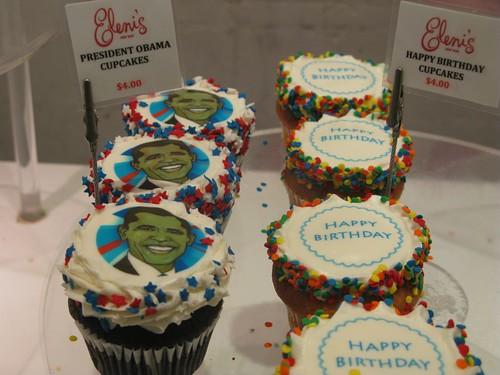 President Obama Cupcakes