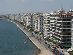 Nikis avenue, Thessaloniki, Greece (Tilemahos Efthimiadis) Tags: hellas greece macedonia 100views thessaloniki 200views 50views whitetower makedonia     address:country=greece address:city=thessaloniki