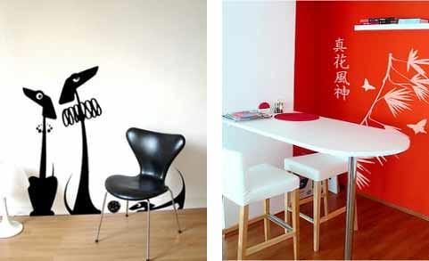 adesivos decorativos para paredes
