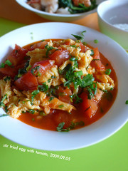 Stir Fried Egg with Tomato (11) Tags: tomato chinesefood egg homemade meal imadethis chives cilantro              stirfriedeggwithtomato