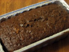 Zucchini Bread loaf small
