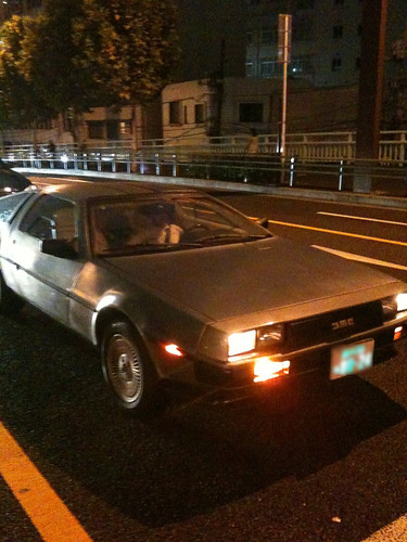 DeLorean @Hiro Japan (September.9.2009)