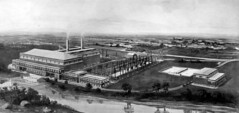 Colonso Power Station (1926) (HiltonT) Tags: southafrica natal kwazulunatal kzn colenso tugelariver powerstation blackandwhite vintagesouthafricanphoto sarhpublicityandtravelimages