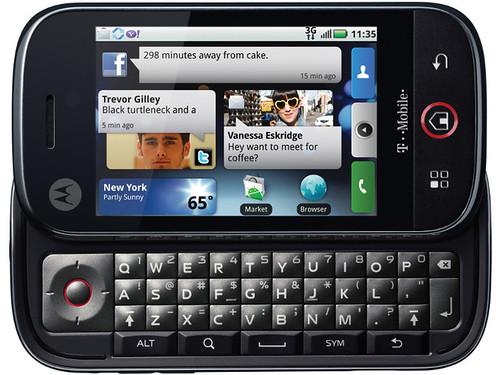 Motorola cliq Dext