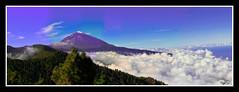 Panoramica del Teide - Tenerife 2008 (astur56) Tags: nwn justclouds astur56