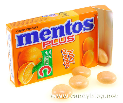 Juicy Orange Mentos Plus