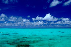 The color of sea (( _`) Sho) Tags: ocean blue summer beach japan island paradise  okinawa  miyako  ishigaki