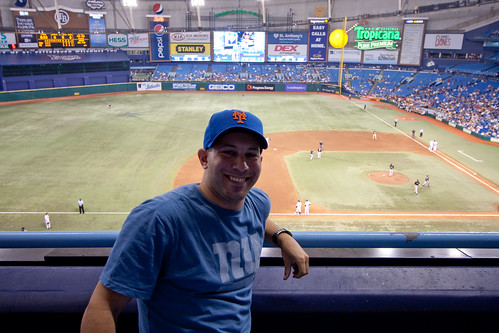 Me at Tropicana Field