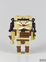 CubeDudes Predator by Angus MacLane