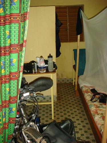 My modest room in Houndé, Burkina Faso.