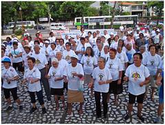 Comemoração do Dia Nacional do Idoso. Foto: Passarinho/Pref.Olinda