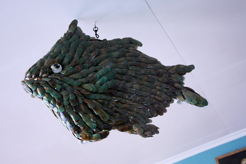 Fish Made of Mussel Shells