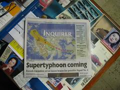 SMI 014 (saraocraft) Tags: storm newspaper philippines headlines goodmorning pinoy typhoon tabletop supertyphoon bagyo dyaryo saraocraft