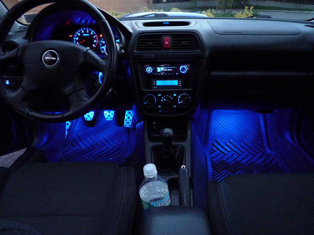 2006 Subaru Wrx Sti For Sale >> Introducing Interior Flair Footwell Lighting Kits - Subaru ...