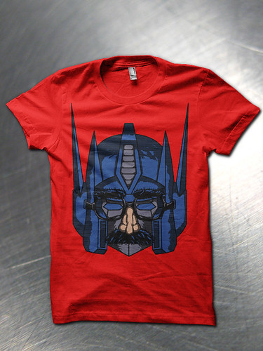 Robot in disguise shirt mock up