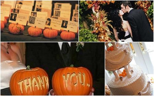Stylish Halloween Wedding I by Nina Renee Designs