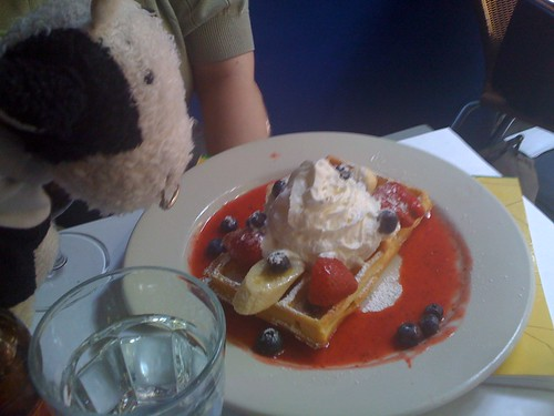 Yum! Let me get started on Waffle #1