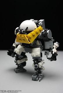 TER-03 Exploration Hardsuit