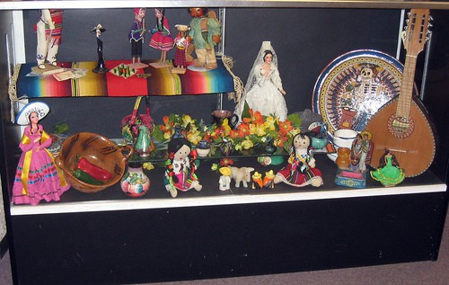 Display Case for Hispanic Heritage Month