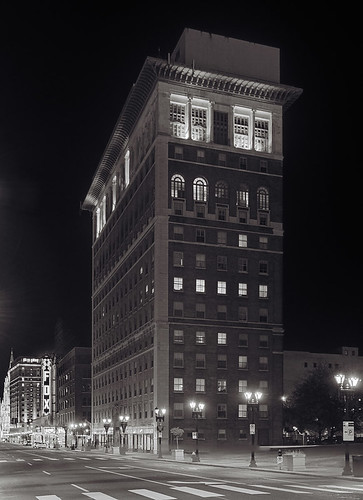 University Club Tower, in the Midtown district of Saint Louis, Missouri, USA