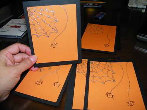 2009 Halloween Cards