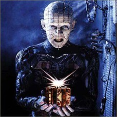 Pinhead of Hell Raiser horror movie icon