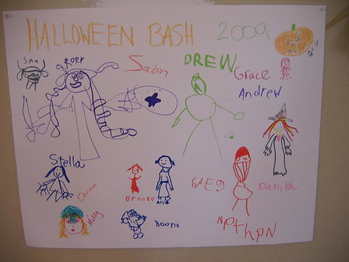 Halloween Bash Sign-in