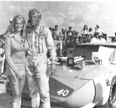 Linda Vaughn,Pete Hamilton and Plymouth Superbird (torinodave72) Tags: girl golden linda nascar firebird miss vaughn pure shifter hurst nhra usac