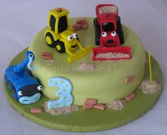 Toca a trabalhar!!!!! (Tenho uma Ideia!...) Tags: cake bolo picnik