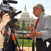 Congressman Conyers Gives an Interview Regarding Healthcare Reform