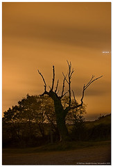 Monte Corona (un mar en calma) Tags: espaa arbol pentax nubes estrellas cantabria sanesteban vientosur montecorona k10d ermitadesanesteban
