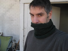 Man Cowl in Malabrigo Worsted Vaa