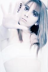 Unreal - I (Chisan) Tags: blue white elise plastic ill sick bandages plastified
