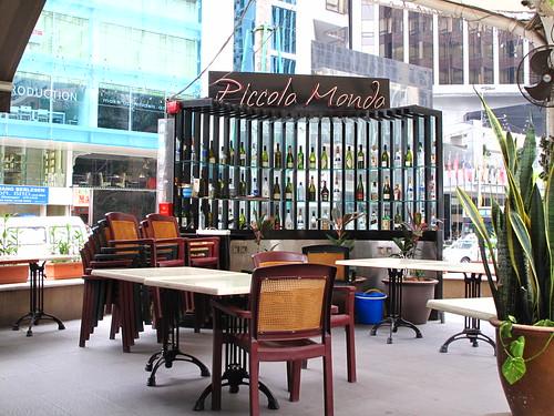 IMG_5038 打烊后的 Piccolo Mondo 酒吧