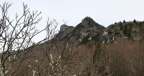 Grandfather Mountain peaks