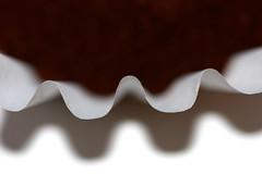 That Morning Edge (curious_spider) Tags: morning shadow macro coffee dof machine ground whitebackground filter thin maker brew pickmeup razorsedge stayeduptoolate